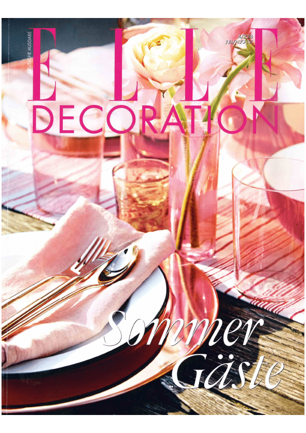 ELLE DECORATION, Ausgabe 4/18