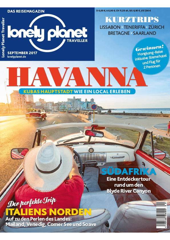 Lonely Planet Traveller 15. August 2017