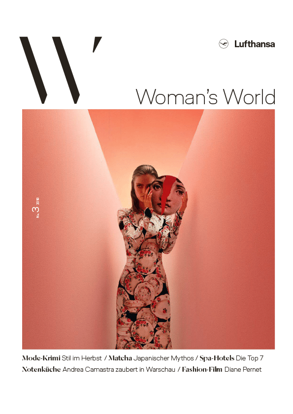 Lufthansa Woman´s World, Ausgabe 3/2018
