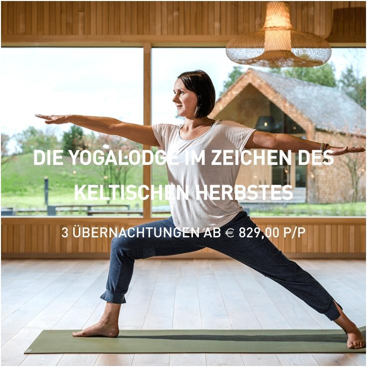 Yogalodge Arrangement im Herbst - Seezeitldoge Hotel & Spa