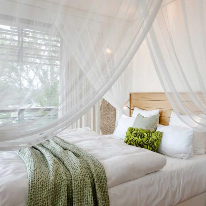 Decke in grün- Online Shop Seezeitlodge Hotel & Spa