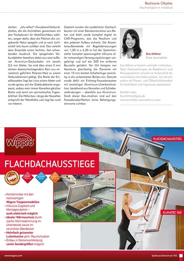Fachreportage Eva Mittner - Fachmagazin GEG Baupraxis Seite 6 - Hotel Seezeitlodge Hotel & Spa