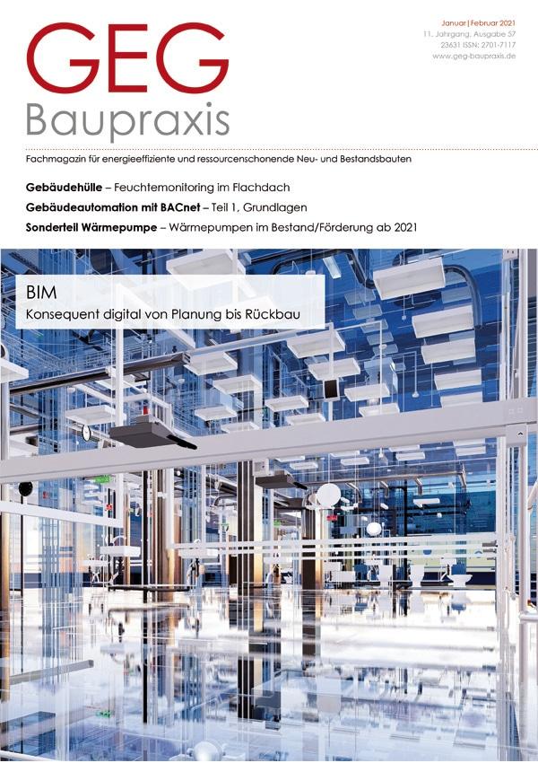 Fachreportage Eva Mittner - Fachmagazin GEG Baupraxis Titel - Hotel Seezeitlodge Hotel & Spa