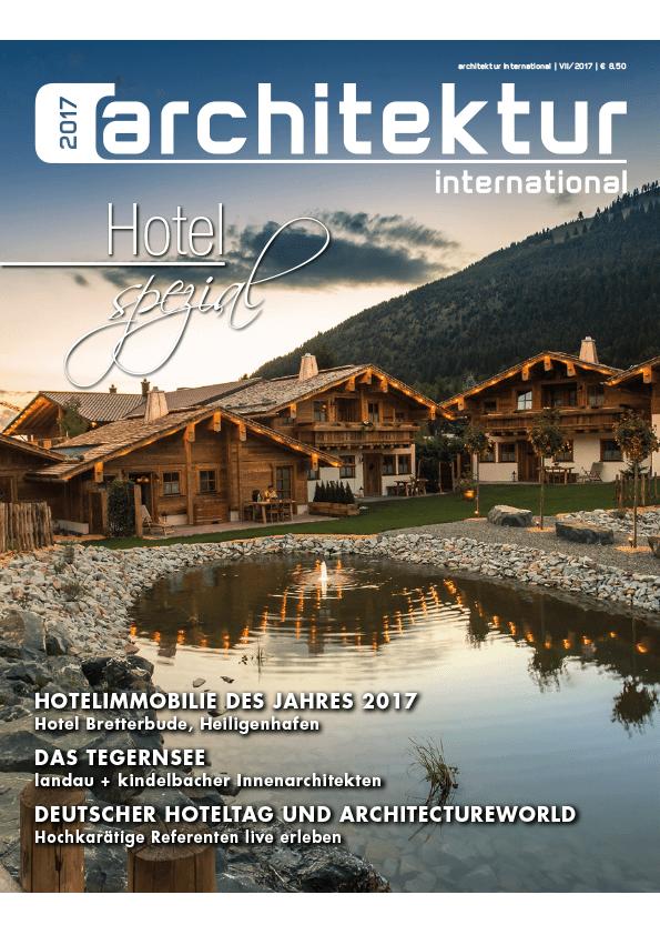 hotel seezeitlodge bostalsee pressestimmen architektur international 11.17 cover