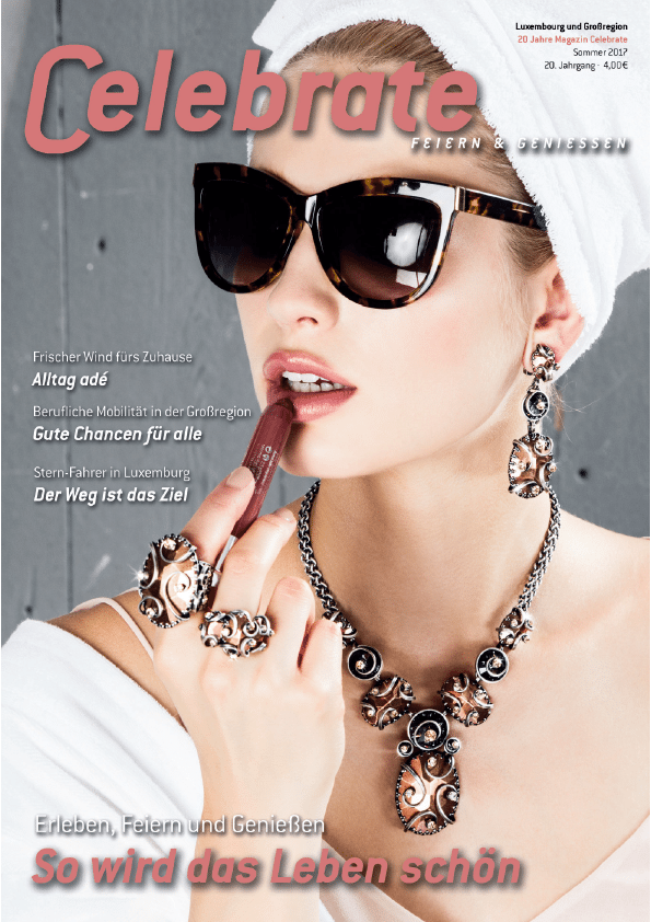 Magazin Celebrate Ausgabe Sommer 2017