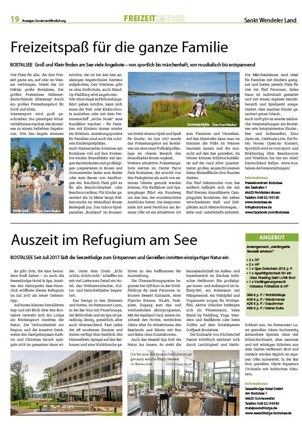 Freizeit-Kompass der Rhein-Main-Presse 2018