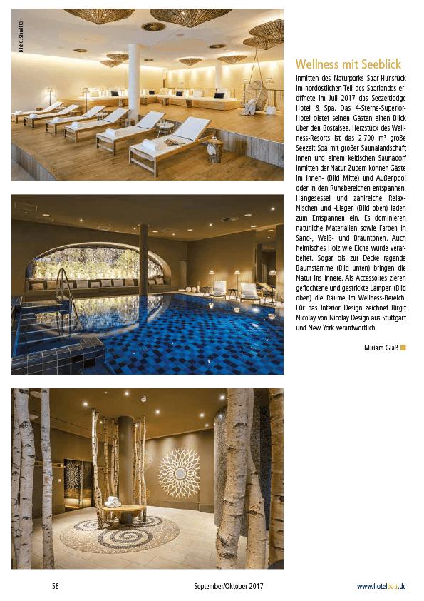 hotel seezeitlodge bostalsee pressestimmen hotelbau seite