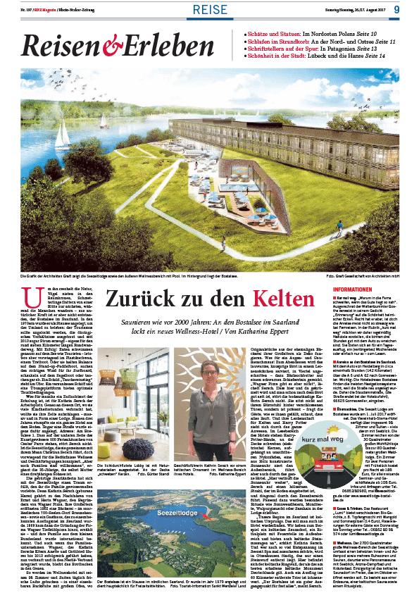 Rhein-Neckar-Zeitung, 26./27.August 2017
