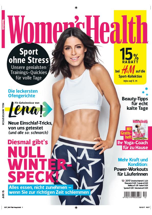 Magazin Women's Health, Dezember 2017
