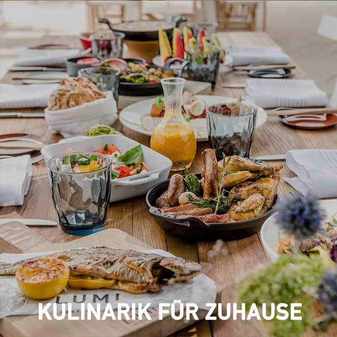 Kulinarik für Zuhause