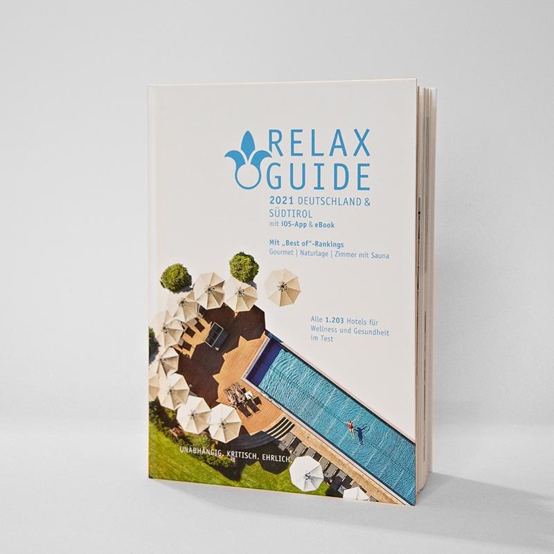 Relax Guide 2021 Deutschland & Südtirol - Online Shop Seezeitlodge Hotel & Spa