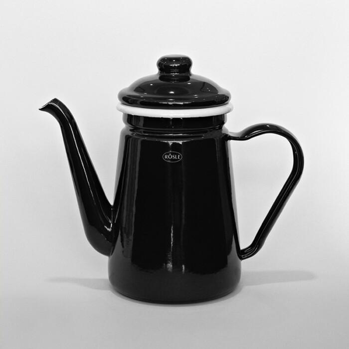 Rösle Kaffeekanne in schwarz - Online Shop Seezeitlodge Hotel & Spa