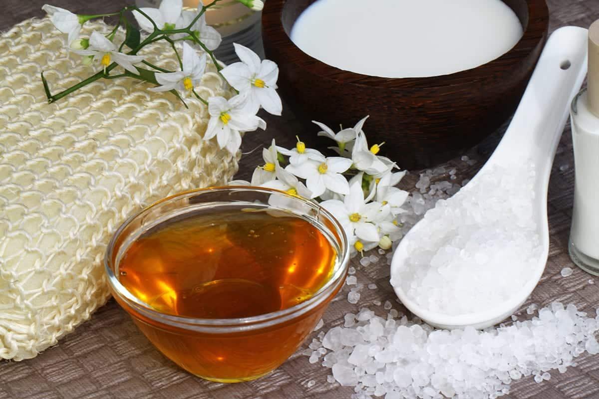 Seezeitlodge Honigpeeling