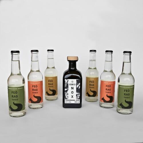 Seezeitlodge Geschenk-Set Equinox Gin mit 3 Sorten Tonic Water - Online Shop Seezeitlodge Hotel & Spa