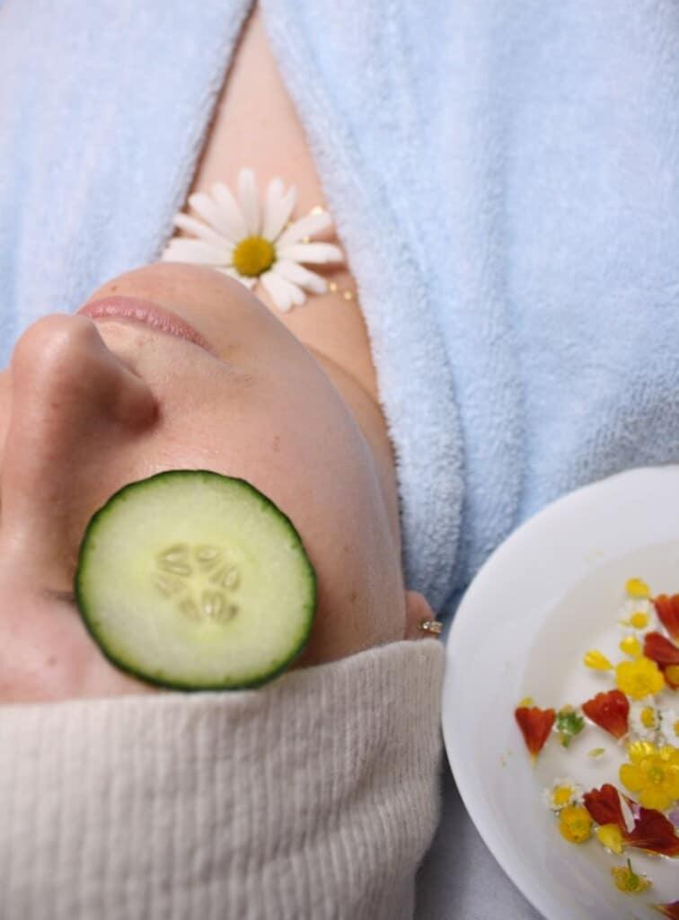 Gesichtsmaske mit Joghurt & Honig