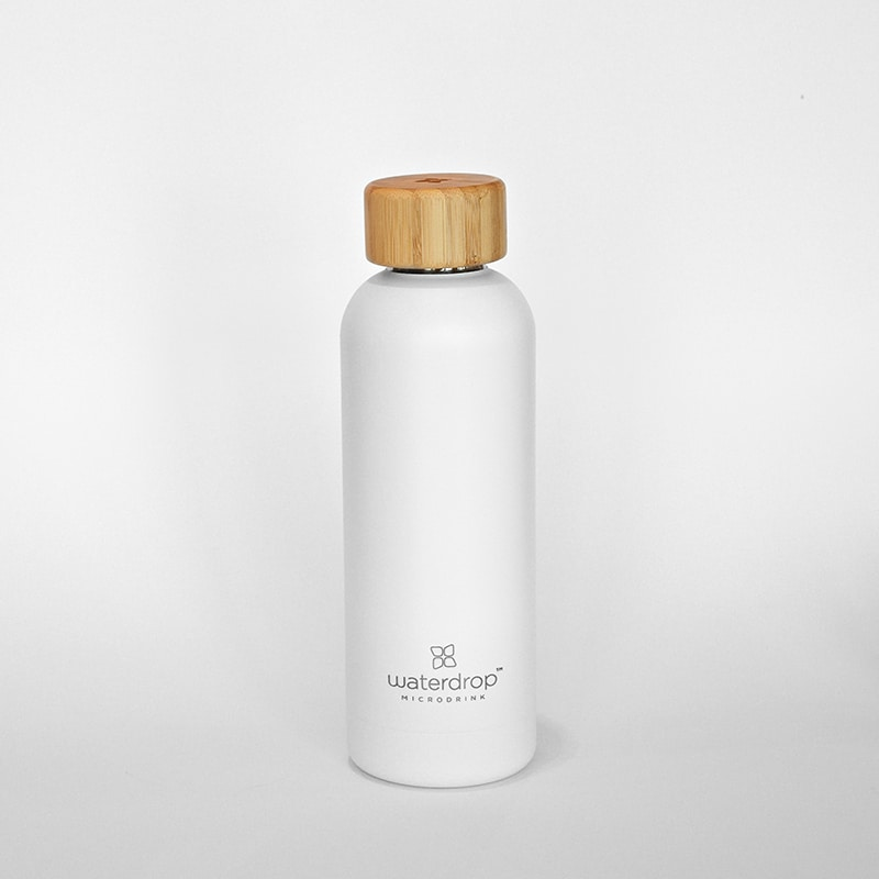 Waterdrop Thermoflasche in weiß - Online Shop Seezeitlodge Hotel & Spa