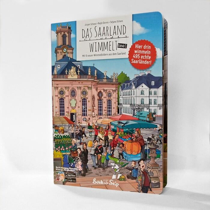 Buch Das Saarland wimmelt, Band 3 - Online Shop Seezeitlodge Hotel & Spa